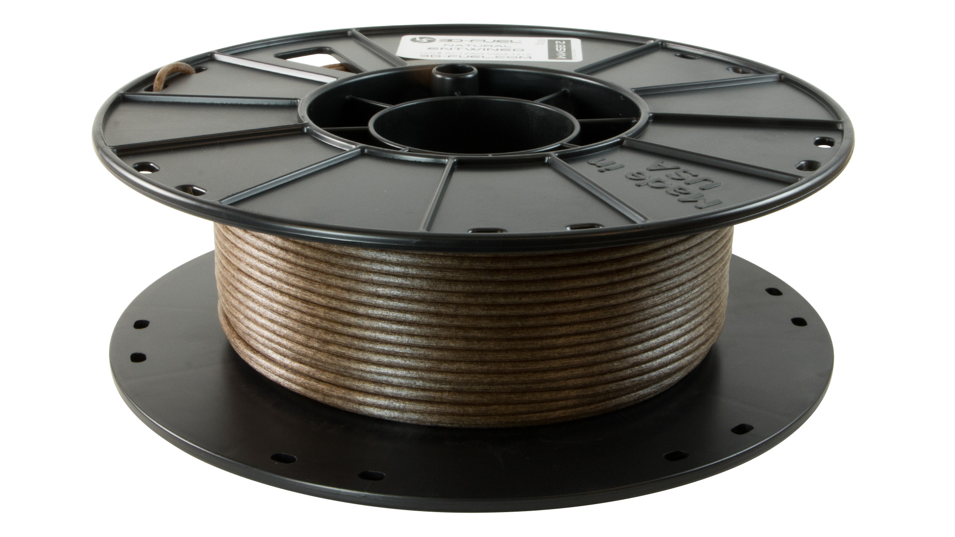 3D Fuel Entwined (Hemp filled PLA)