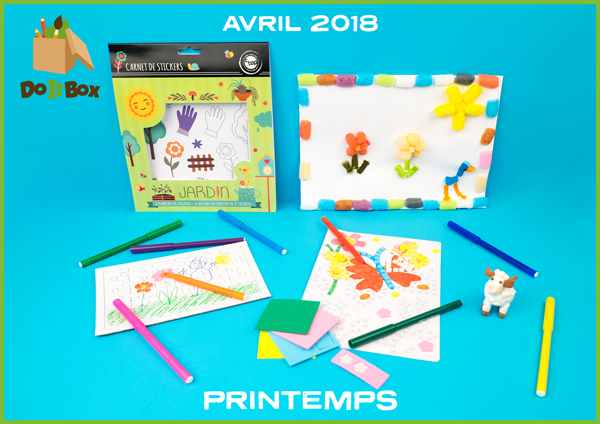 Box Avril 18 : Printemps