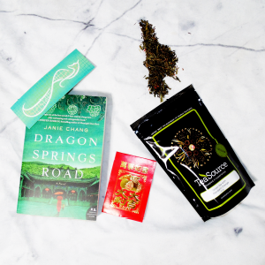 Muse Monthly, a subscription box for books and tea: The July Collection