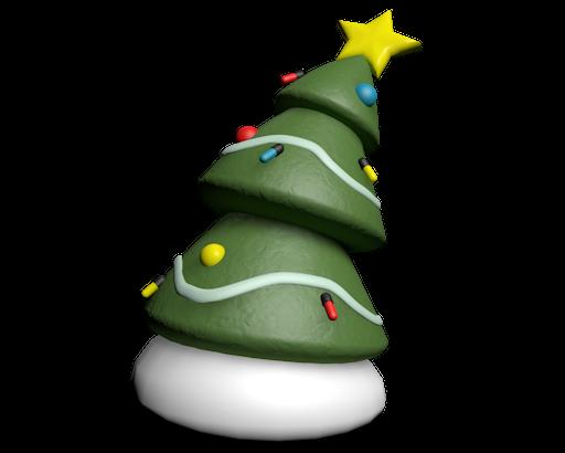341 a rather festive tree