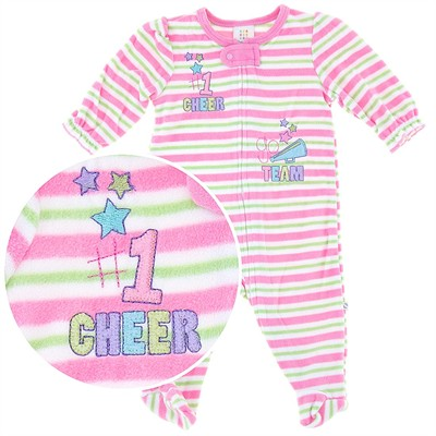 Cheer Blanket Sleeper for Infant Sleeper for Girls