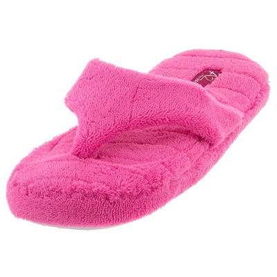 Aerosole Fuchsia Thong Slippers for Women