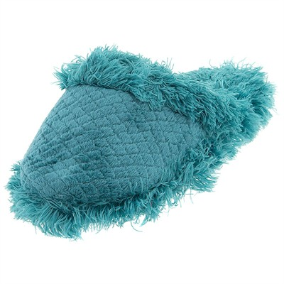 Green Aerosole Fuzzy Slippers for Women
