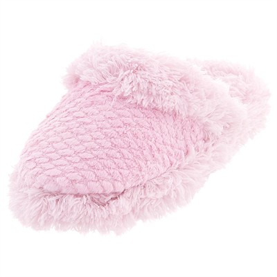 Pink Aerosole Fuzzy Slippers for Women
