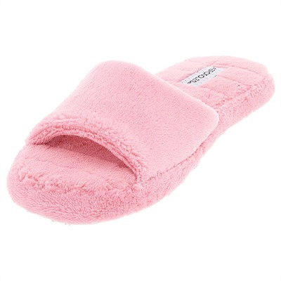 Pink Aerosole Open Toe Slippers for Women