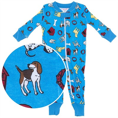 Agabang Dog Organic Cotton Sleeper for Baby Boys