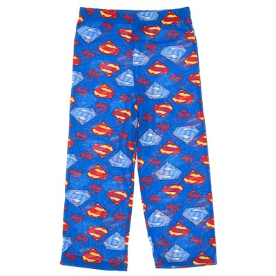Superman Blue Pajama Pants for Boys