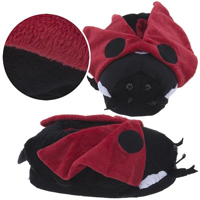 Lady Bug Animal Slippers for Women and Men