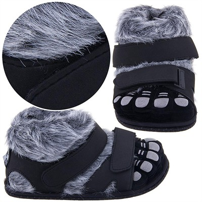 Gray Wildcats Feet Slippers for Women and Men