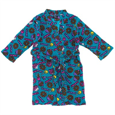Aqua Candy Fleece Bathrobe for Juniors