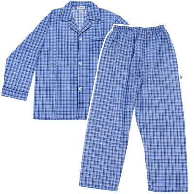 Assorted Prints Broadcloth Pajamas for Men