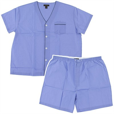 Assorted Short Broadcloth Pajamas for Men