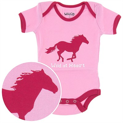Wild at Heart Onesie for Baby Girls