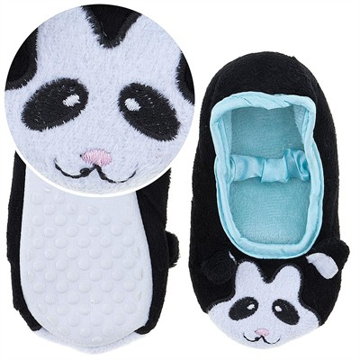 Panda Ballerina House Slippers for Toddler Girls
