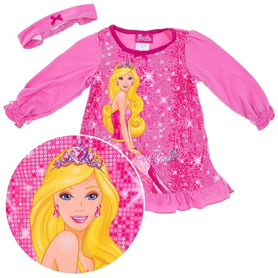 Barbie Nightgown for Toddler Girls