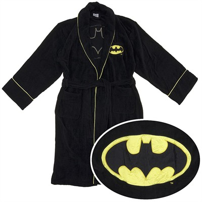 Batman Cotton Terry Bathrobe for Men