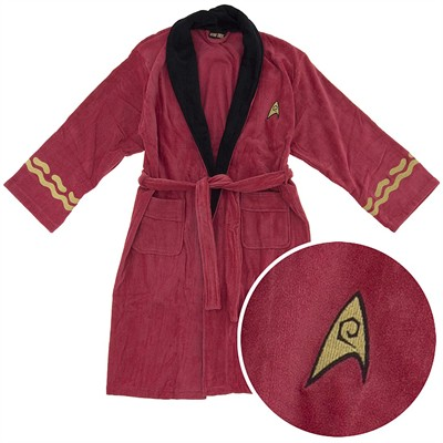 Star Trek Scotty Cotton Terry Bathrobe for Men