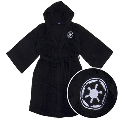 Star Wars Darth Vader Cotton Terry Bathrobe for Men