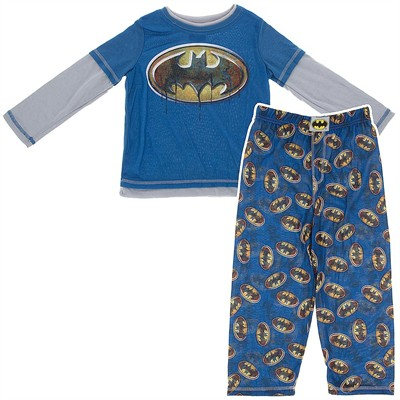Batman Blue Pajamas for Boys