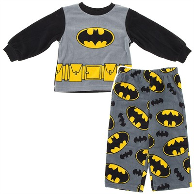Batman Fleece Pajamas for Toddler Boys