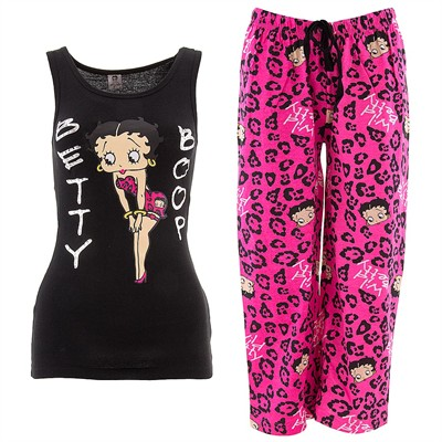 Betty Boop Wild Betty Capri Pajamas for Women