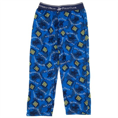 Beverly Hills Polo Club Blue Pajama Pants for Boys