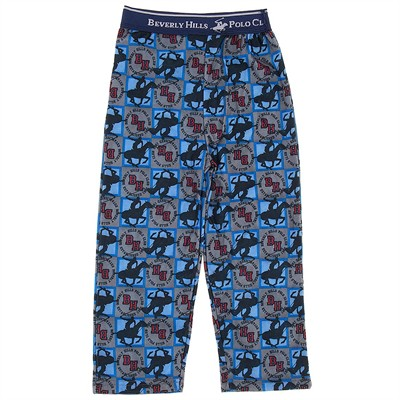 Beverly Hills Polo Club Logo Pajama Pants for Boys