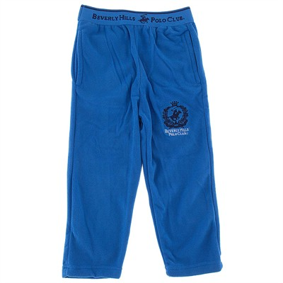 Beverly Hills Polo Club Blue Fleece Pajama Pants for Boys
