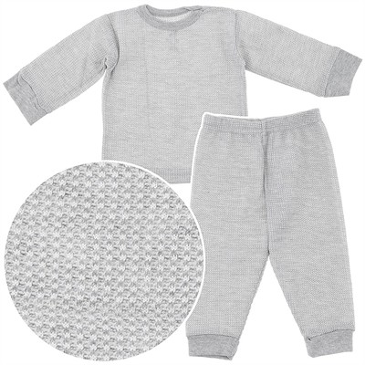Beverly Hills Polo Club Gray Thermals for Boys