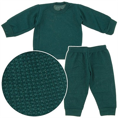 Beverly Hills Polo Club Hunter Green Thermals for Infants and Boys
