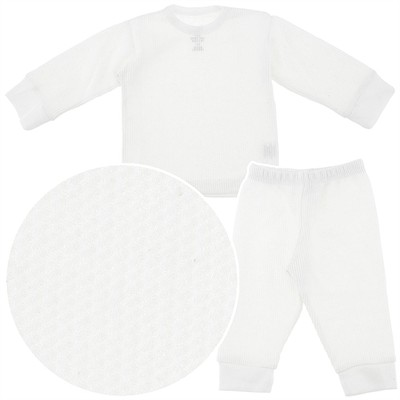 Beverly Hills Polo Club White Thermals for Boys