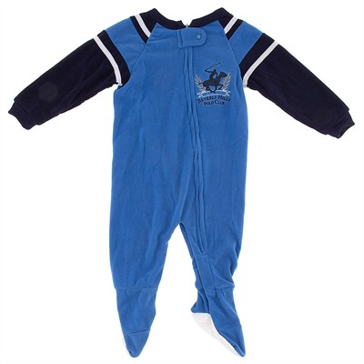 Beverly Hills Polo Club Blue Blanket Sleeper for Boys