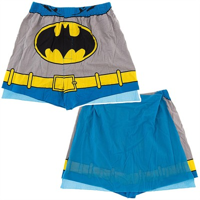 Batman Boxer Shorts with Cape for Men