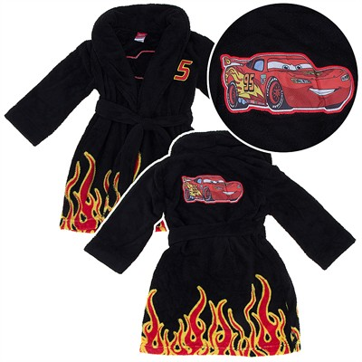 Cars Lightning McQueen Plush Bathrobe for Boys