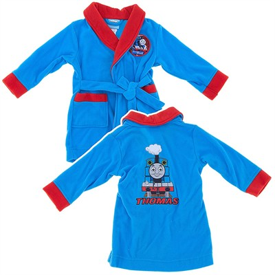Thomas the Tank Engine Fleece Bathrobe for Toddler Boys