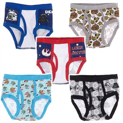 Handcraft Angry Birds Star Wars 5 Pack Briefs for Boys