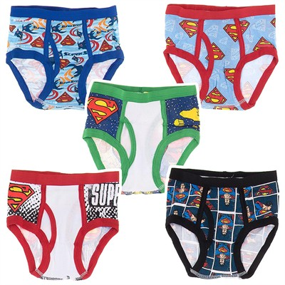 Handcraft Superman 5 Pack Briefs for Boys