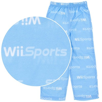 WII Sports Pajama Pants for Boys