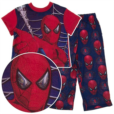 Spider-man Short Sleeved Pajamas for Boys