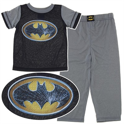 Batman Black and Gray Pajamas for Boys