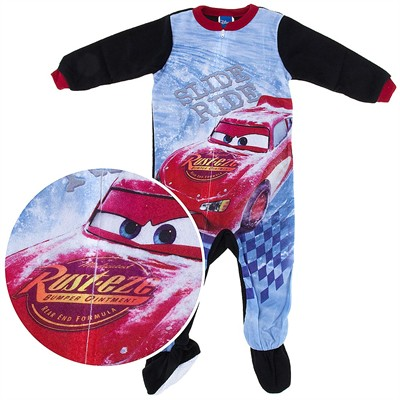 Cars Slide Ride Footed Pajamas for Infant Boys