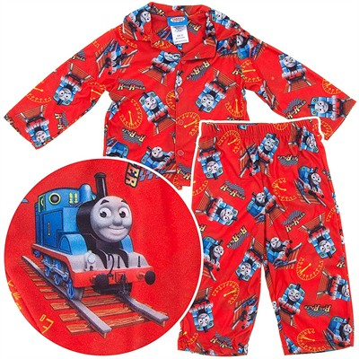 Thomas the Tank Engine Coat-Style Pajamas for Baby Boys