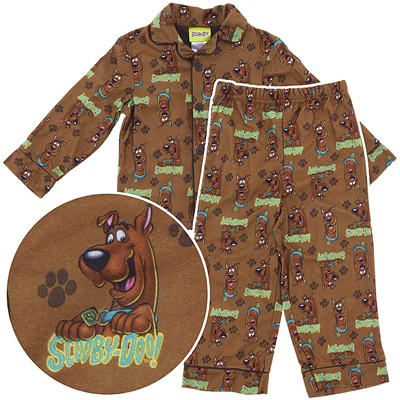 Scooby Doo Coat-Style Pajamas for Boys