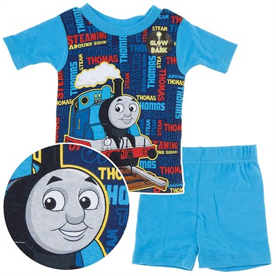 Thomas the Tank Engine Short Pajamas for Toddler Boys