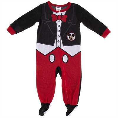 Mickey Mouse Tuxedo Footed Pajamas for Toddler Boys