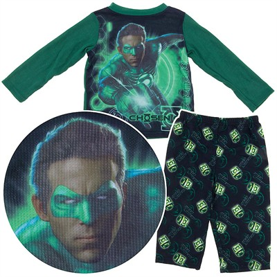 Green Lantern Chosen One Pajamas for Toddler Boys