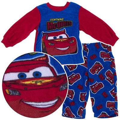 Lightning McQueen Fleece Pajamas for Baby Boys
