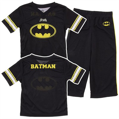 Batman Football Jersey Pajamas for Boys