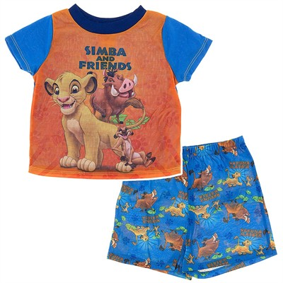 Lion King Simba Pajamas for Toddler Boys