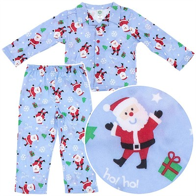 Little Me Santa Pajamas for Toddler Boys
